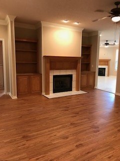 Living Room, new faux wood